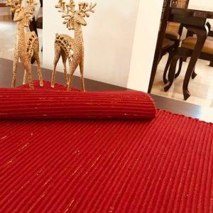 Glitter Red Mat