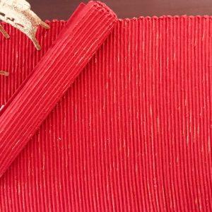 Glitter Red table mat